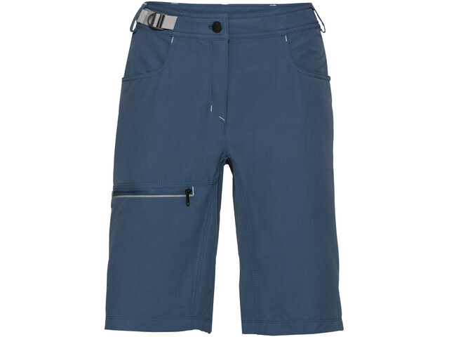 VAUDE Tekoa korte broek Dames, fjord blue